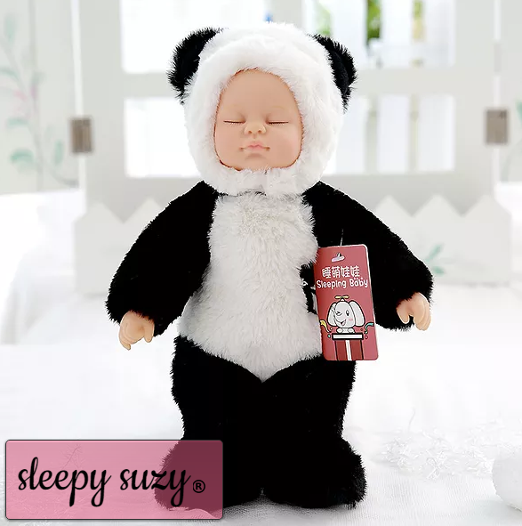 Real Life Baby Doll, Sleepy Doll Crafted in Soft Vinyl High Quality, 37/25 c'm