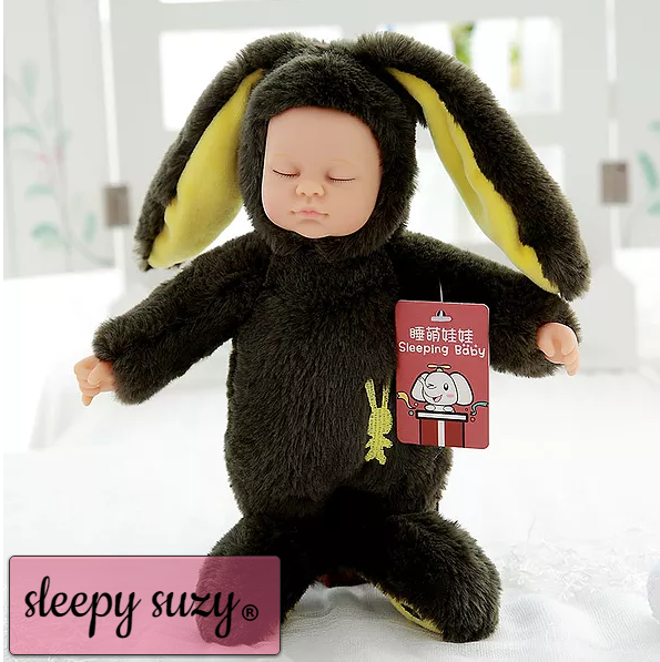 Real Life Baby Doll, Sleepy Doll Crafted in Soft Vinyl High Quality,37/25 c'm