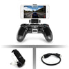 Gamepad Holder Clip Mount Cradle Extendable  for Sony PlayStation 4 PS4