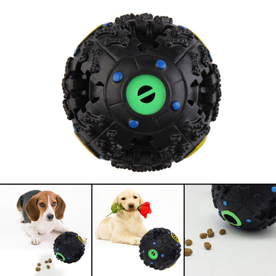 7.5cm Funny Dog Food Dispenser Toy Ball  Chew Ball