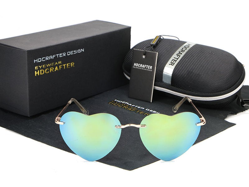 NEW  Heart Sunglasses
