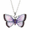 Colorful Butterfly Charms Pendant Necklace
