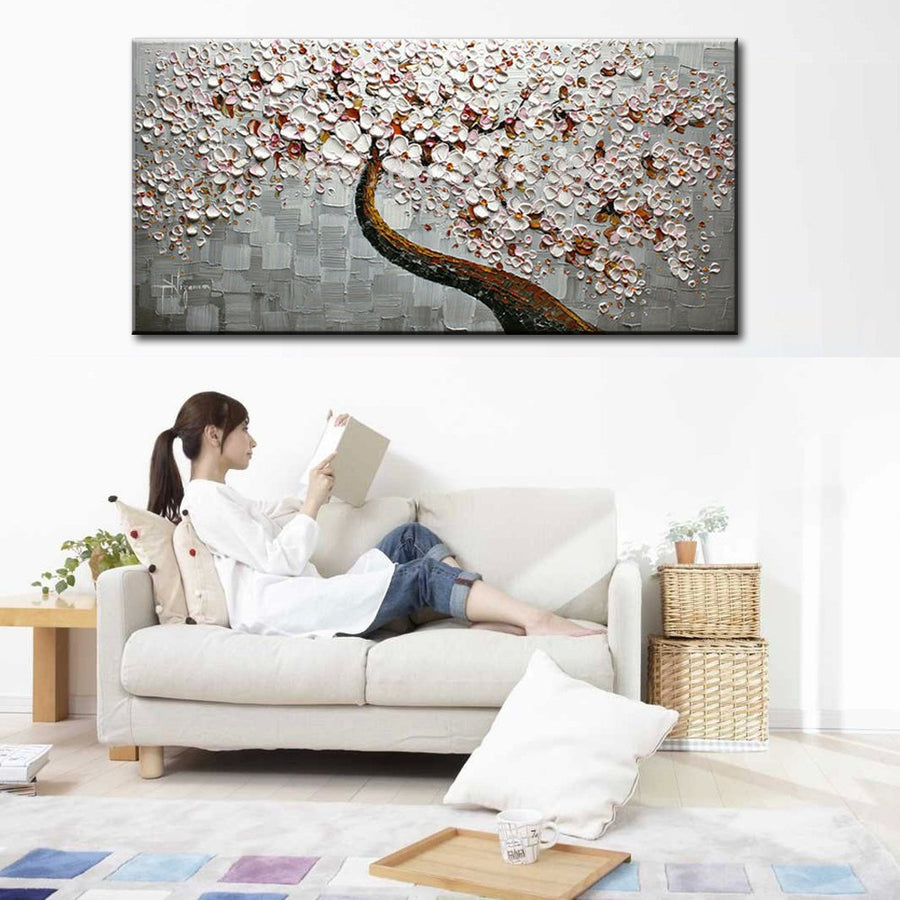 New handmade Modern Canvas on Oil Painting  Home living room Decor