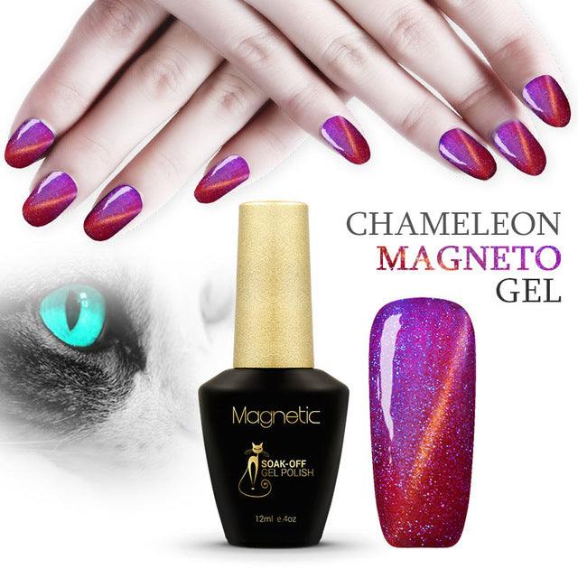 Gel Nail Polish 12ml Chameleon Cat Eyes