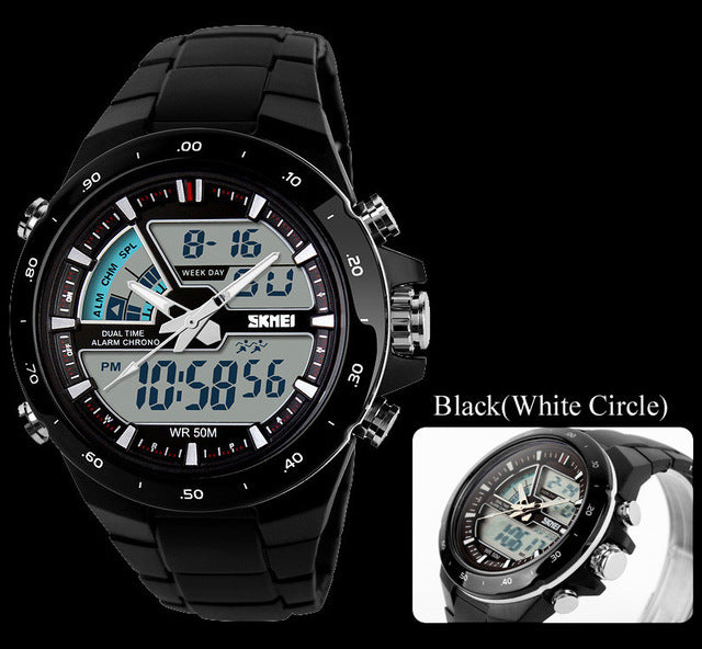 sports watches Mens Relojes LED Digital Watch