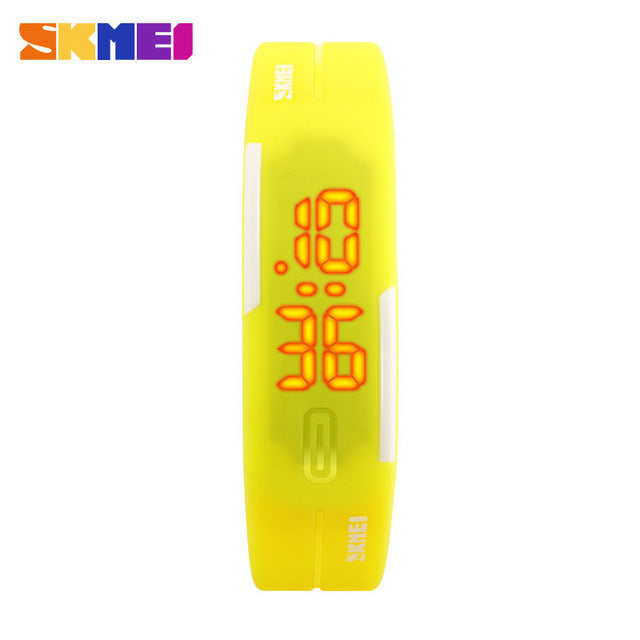 LED Digital Fashion Casual Womens Wristwatch Bracelet Watch