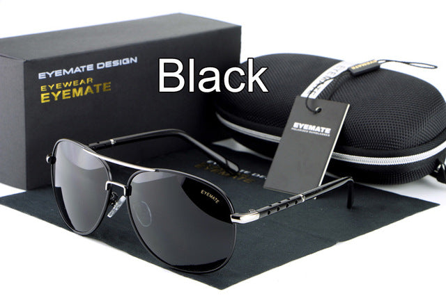 100% Polarized Aluminum Alloy Frame Glasses EyewearFor Men