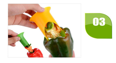 2 pcs Nordic Creative Kitchen gadgets chili tomato corers fruit&vegetable