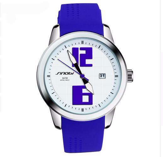 Silicone  Quartz Watch Casual Wirstwatch Colorful Style