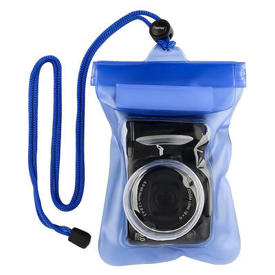 12.3X21.3cm Waterproof Camera Bag Case With Rope Underwater Diving