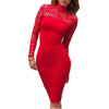 Midi Bandage Bodycon Dress