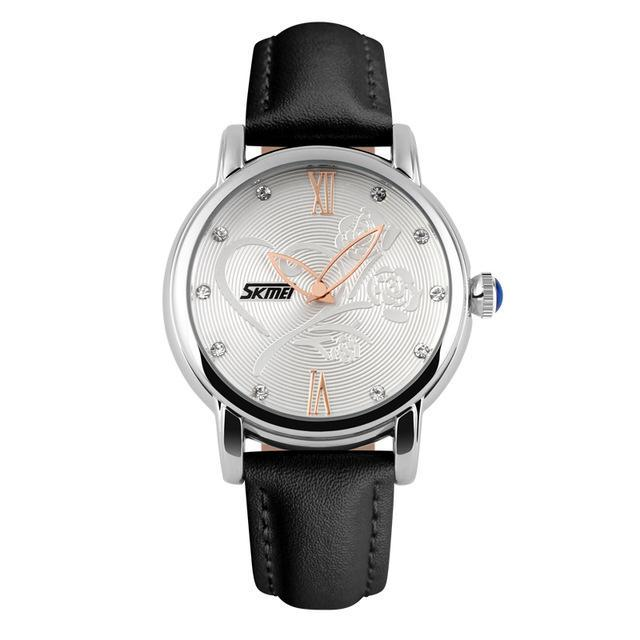Quartz WatchWomen's Leather Dress Fashion Brand