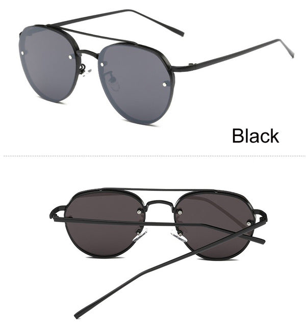 South Korea Sunglasses Brand Designer For Unisex High Quality Current