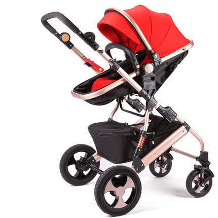High View Baby Stroller Folding Poussette Stroller Bebek Arabasi Kinderwagen Baby Car