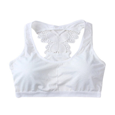 Butterfly Back Quick Dry Seamless Fitness Gym Running Sport top