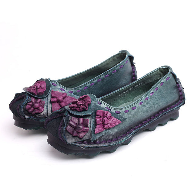 Women Loafers Shoes Casual Female Flats Driving Shoes plus size