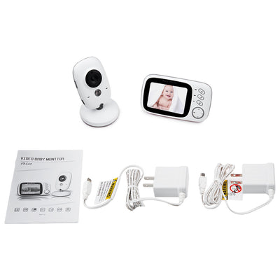 3.2 inch Wireless Video Color Baby Monitor