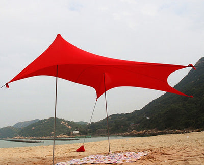 Beach SunShade Beach Tent With Sandbag Anchors