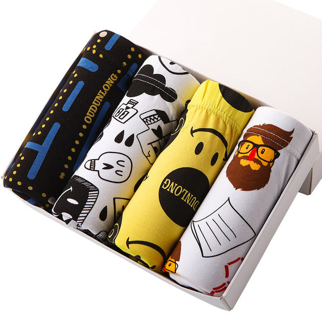 Home Boxers Cotton Boxer Men Underwear Soft