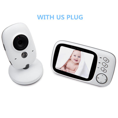 3.2 inch Wireless Video Color Baby Monitor Camera