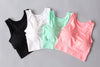 Breathable Mesh Sports Shockproof Padded Athletic Running Sport Top Vest