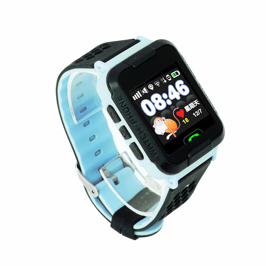 Child Smart watch IP67 GPS Touch Phone Smartwatch SOS Call Location Device Tracker Kids Safe Anti-Lost Monitor