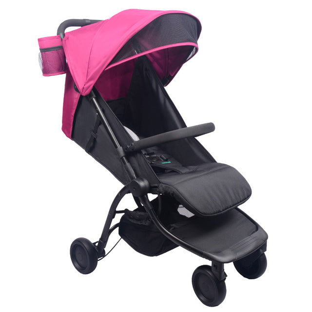 Baby stroller Can Sit Lying Ultra Light Folding Stroller