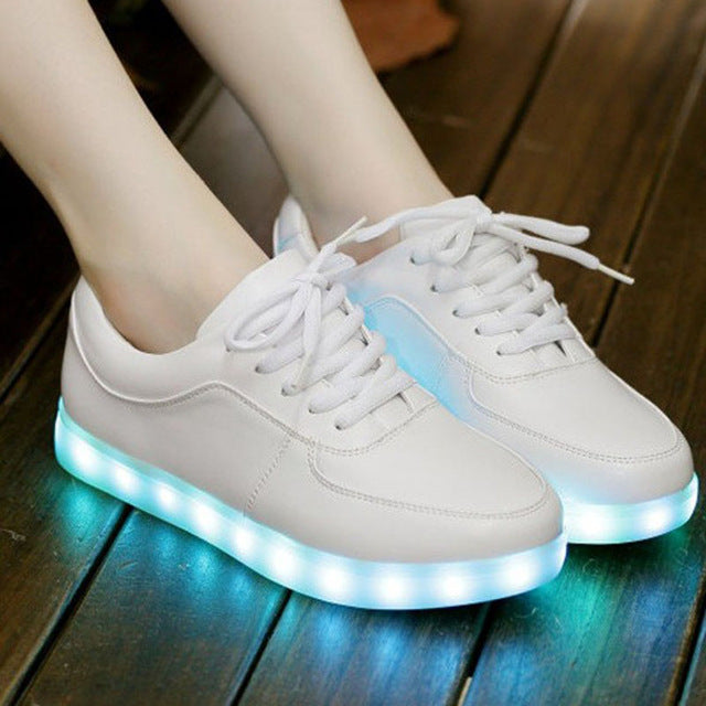 sport shoes led light shoes