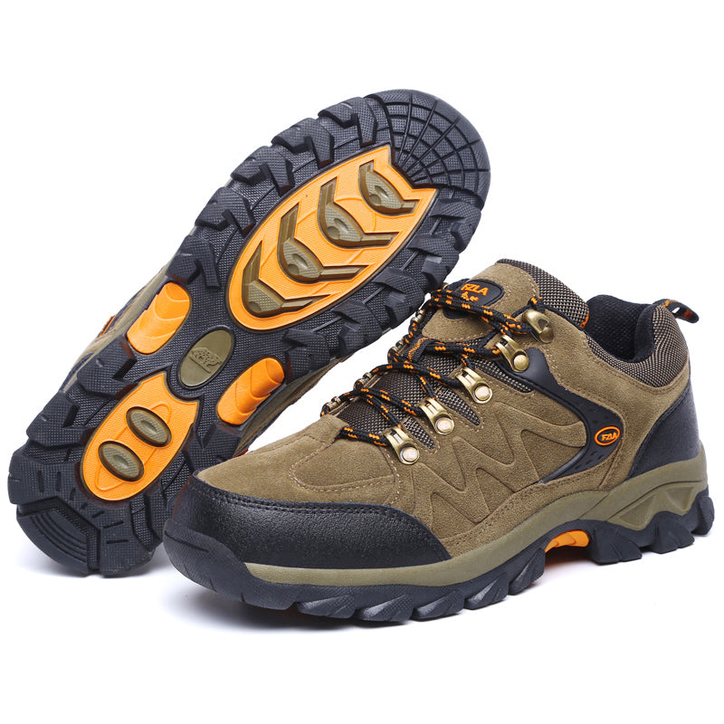 Top Quality Men Lace Up  Climbing Shoes