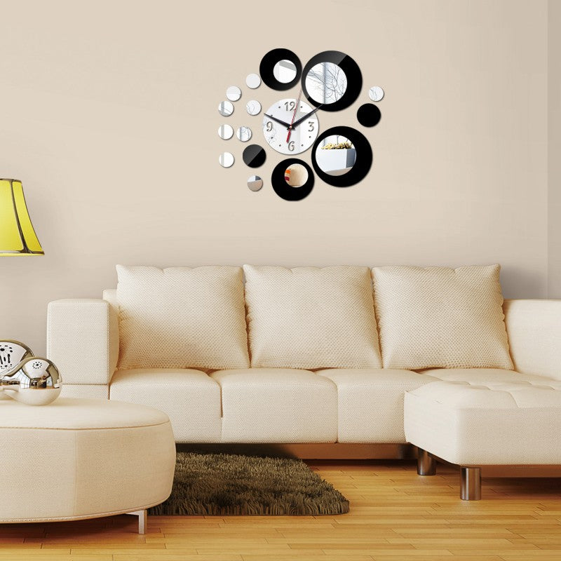 3d Wall Stickers Home Decor Europe Acrylic Clock