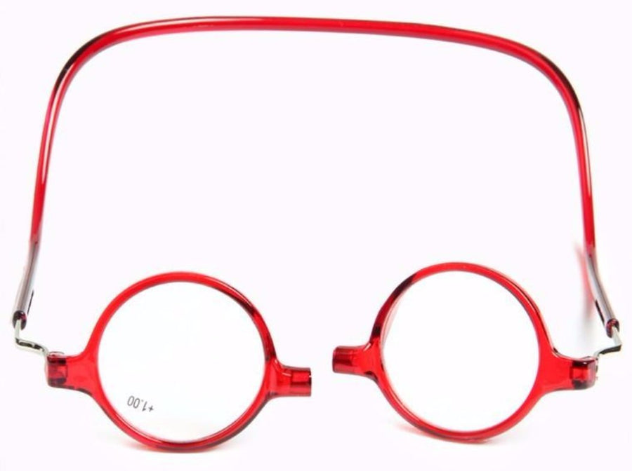 Roundness The magnet Halter reading glasses woman reading presbyopic - buyaddict