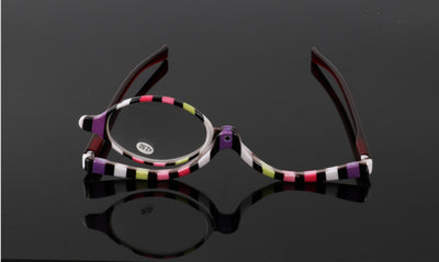 180 Degree Rotating Monocular Cosmetic Glasses make up glasses