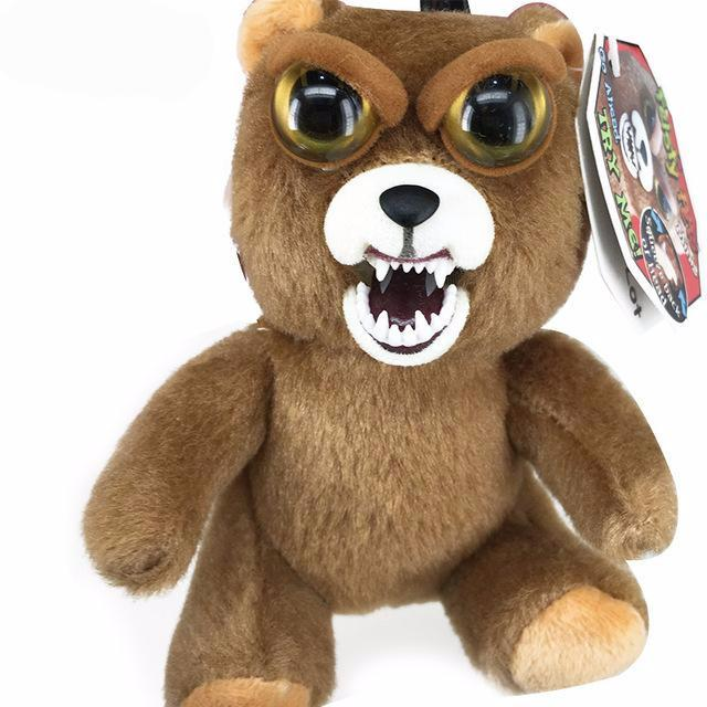 Funny Bear Change Face Feisty Pets Plush Toys