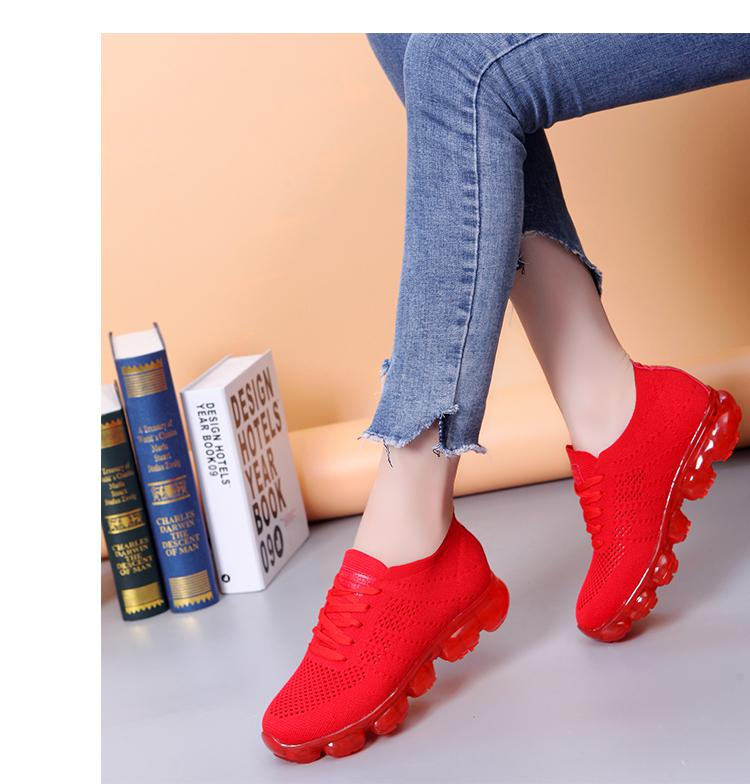 Athletic Outdoor Woman Sneakers Comfortable Trainers