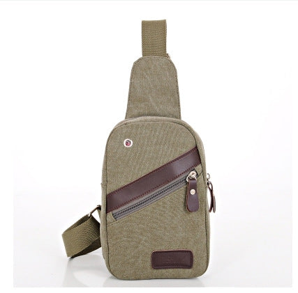 Canvas Messenger  Casual Travel Military Bag