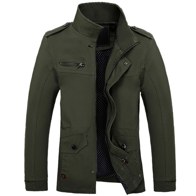 Cotton Quality Army Military Brand Clothing JACKET