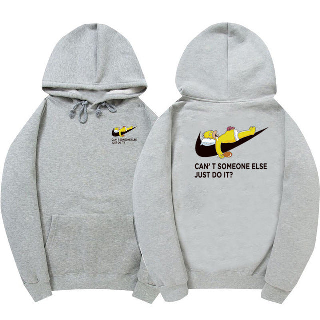 100% cotton fashion hoodie sweatshirt Hip Hop just do it