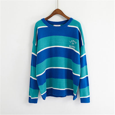 Candy-Colored Stripes sweater