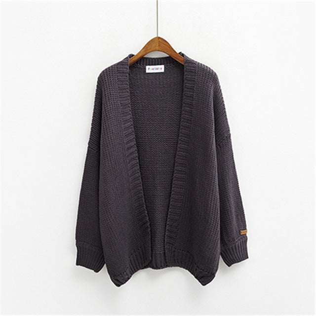 Women Korean Cardigans Sweater