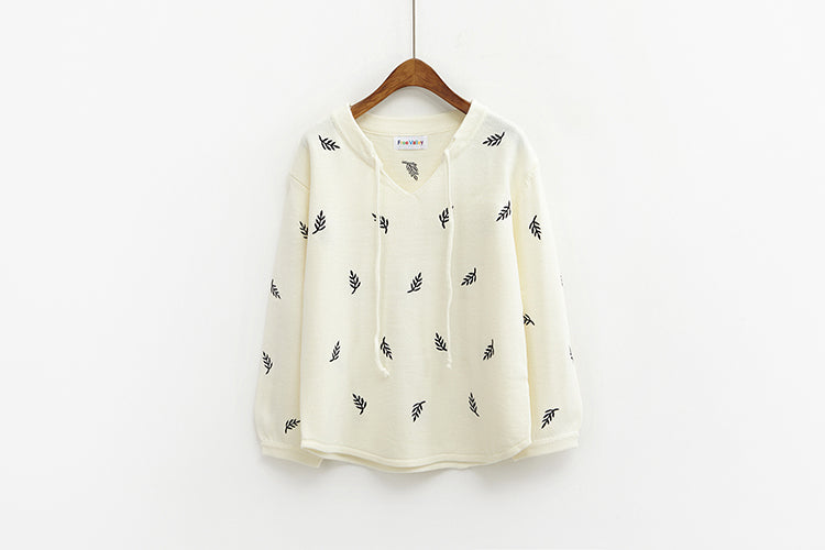 Women Pullovers Sweaters Kawaii Print