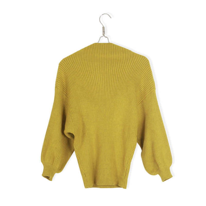 Winter Knitting Pullover Sweater Female