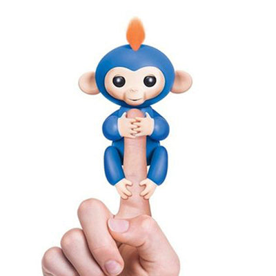 blue Authentic Fingerlings Interactive Finger Monkeys WowWee Smart Toy  Kid Gift