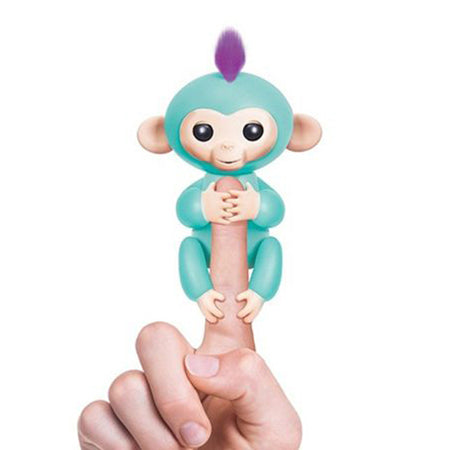 green Authentic Fingerlings Interactive Finger Monkeys WowWee Smart Toy  Kid Gift