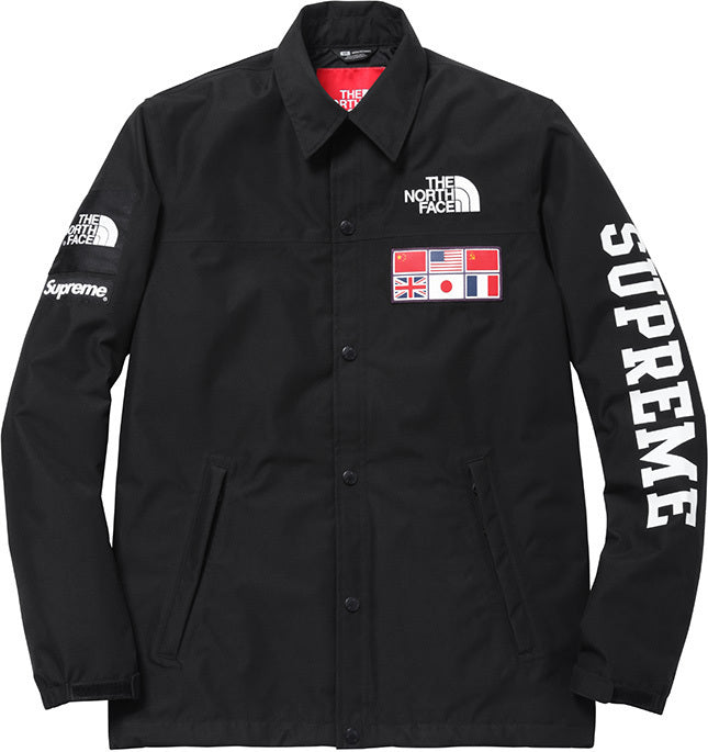 Black  SPRING/SUMMER water-proof Expedition SUPREME Coaches Jacket