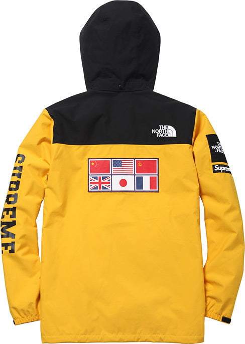YELLOW SUPREME X SPRING/SUMMER water-proof Expedition Coaches Jacket