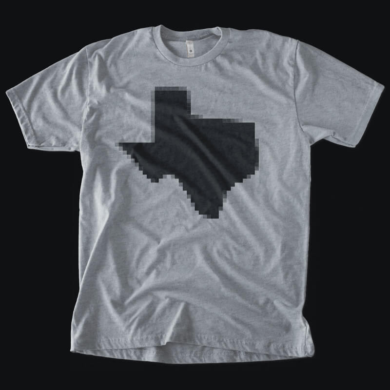 Pixelated Texas