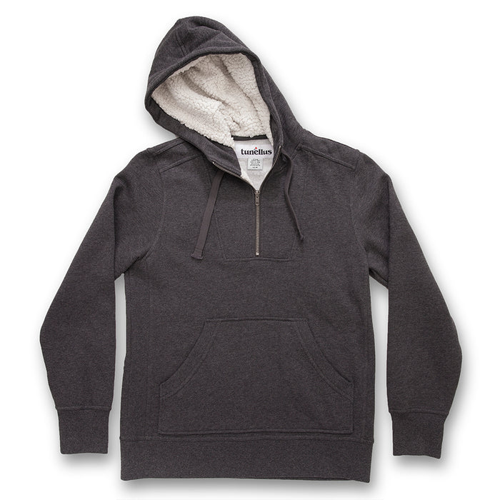 THE 1/2 ZIP SHERPA HOODY