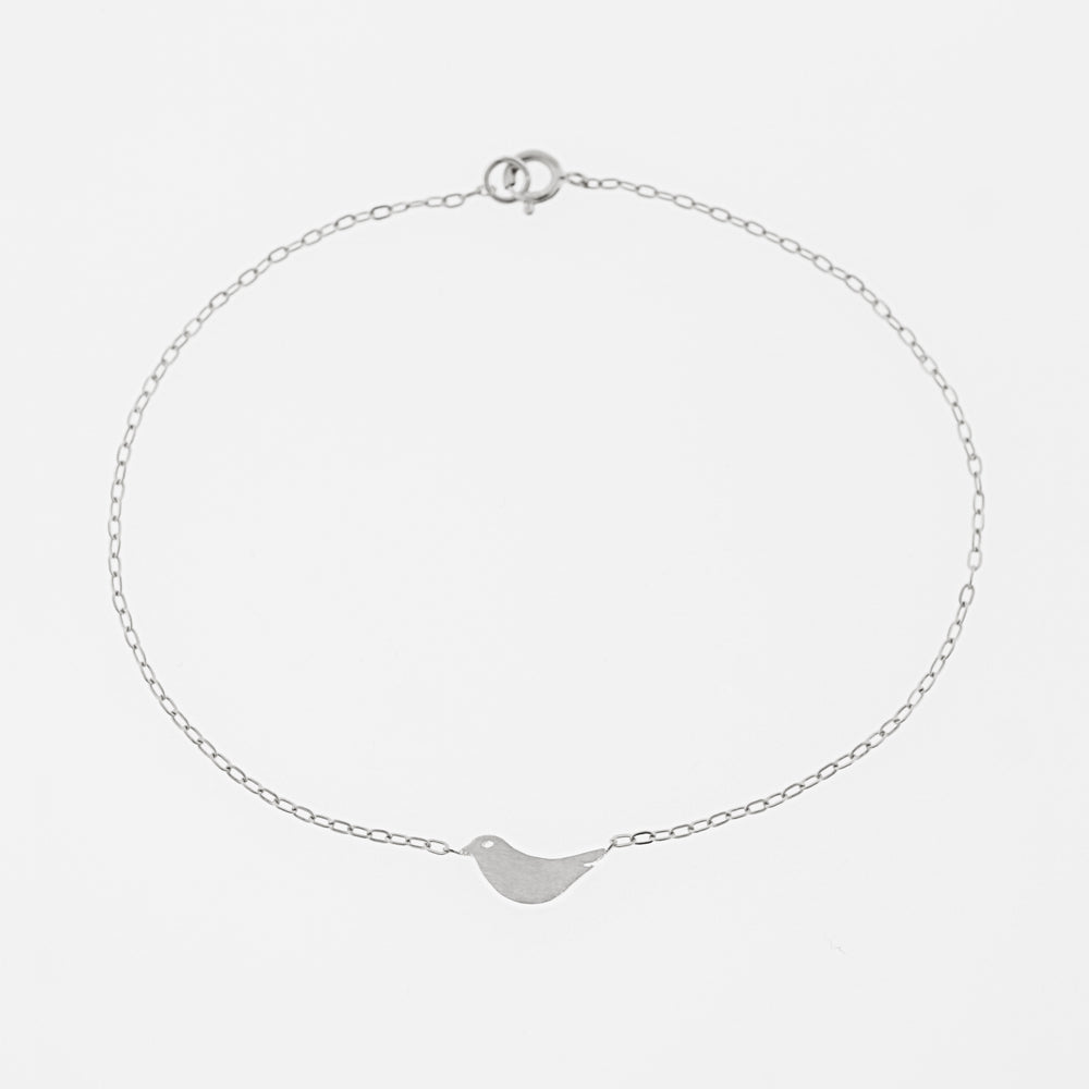 Load image into Gallery viewer, Bird Bracelet Silver | AF HOUSE