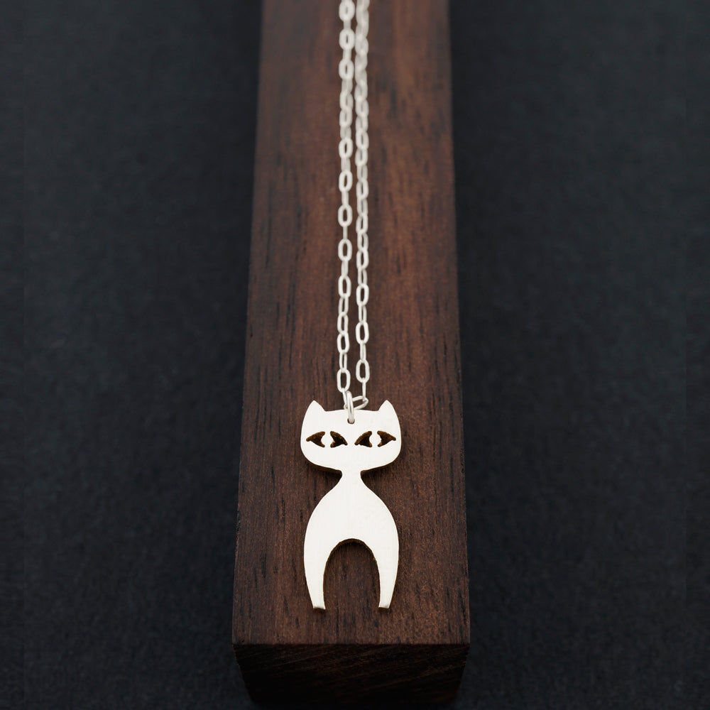 Cat Necklace-AF HOUSE