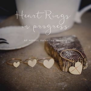 Wide Heart Ring